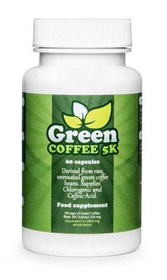 zielona kawa w tabletkach