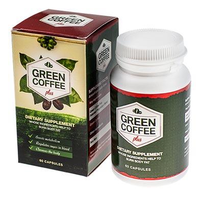 tabletki z zieloną kawą green coffee plus