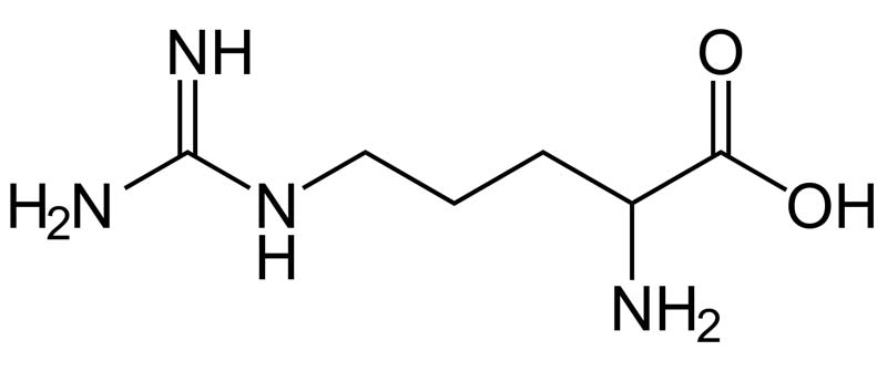 arginina - struktura